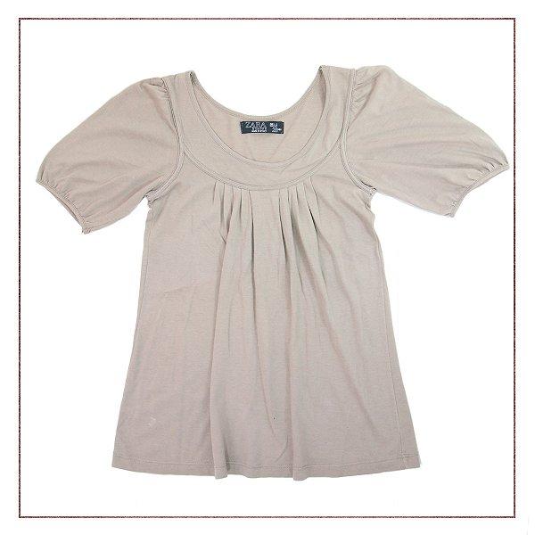 Camiseta Zara Marrom