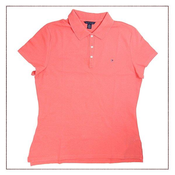 1d96acd48b Camisa Tommy Hilfiger Laranja
