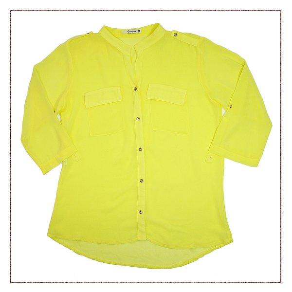 Camisa Cenarium Amarela