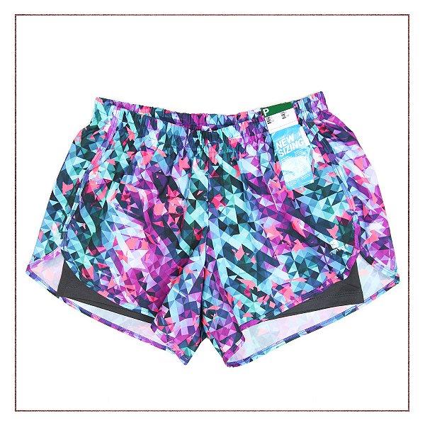NOVA! Shorts Decathlon Abstrato