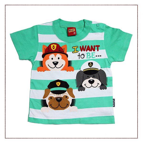 Camiseta Kyly Estampada Usada  a6e5269a13f53