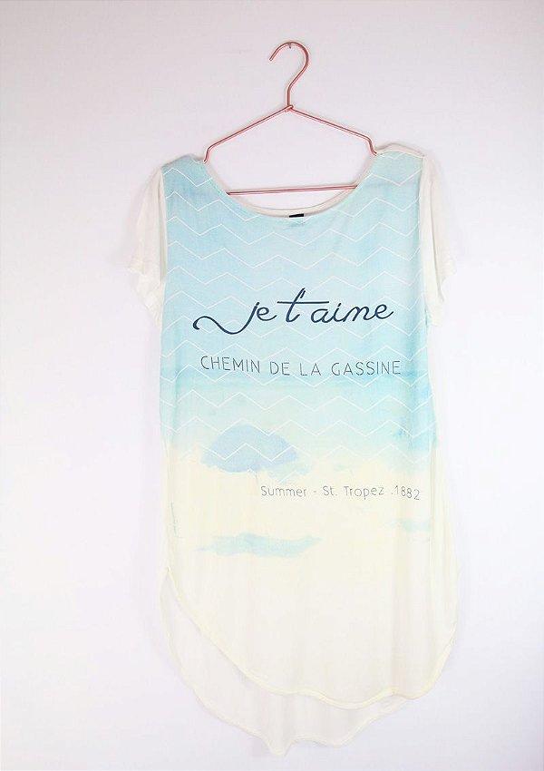 e428c5de54 Camiseta Hering Je T aime Usada