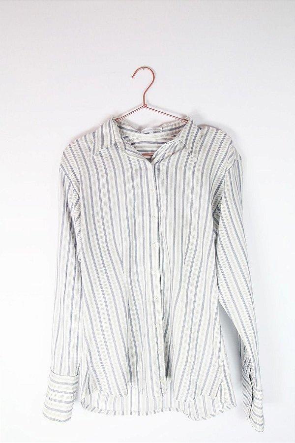 718c184ea Camisa Le Lis Blanc Listrada Usada