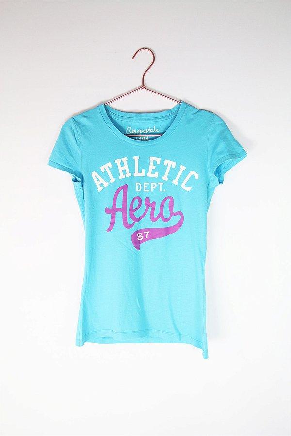 Camiseta Aeropostale Azul