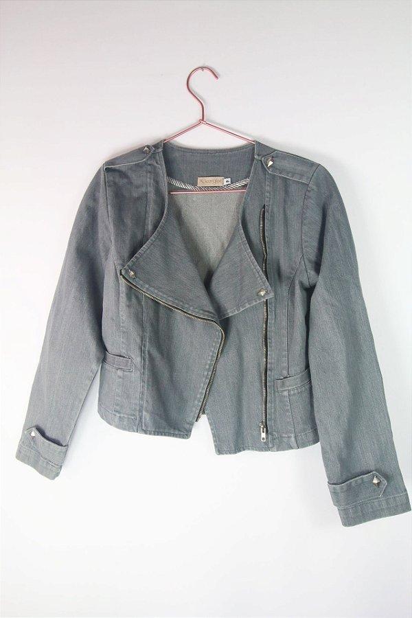 Jaqueta Jeans Georgia Cinza