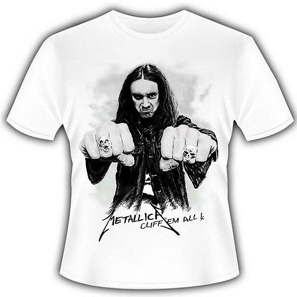 Camiseta Metallica Cliff 'em All