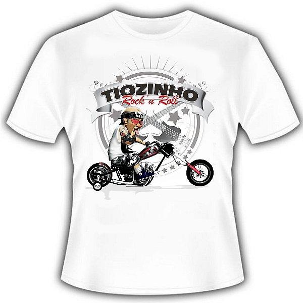 Camiseta Tiozinho Rock n' Roll Bike
