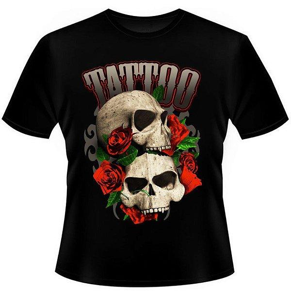 Camiseta Skull Tattoo