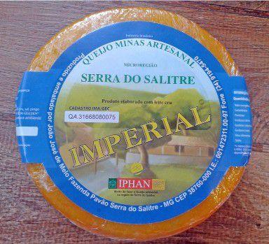 Queijo Serra do Salitre Imperial Claro (ENVIO SÓ POR SEDEX)