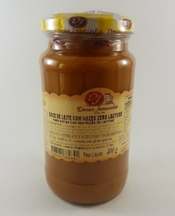 Doce de Leite c/ Nozes Zero Lactose CM