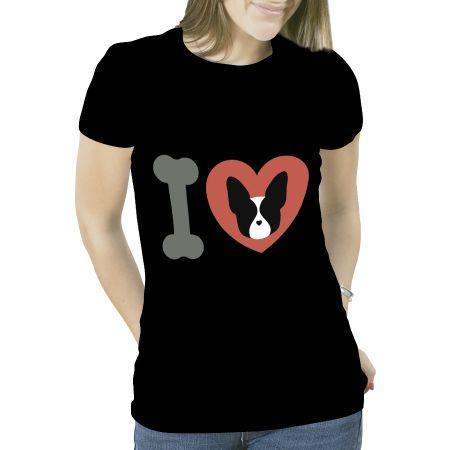 Camiseta BostonTerrier Black