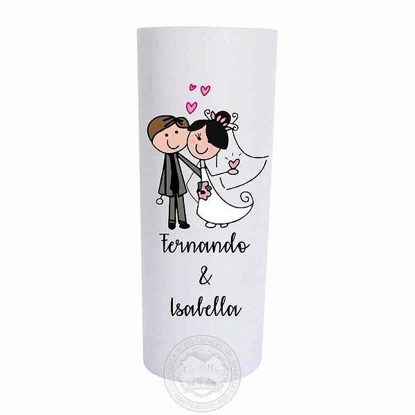 Copo personalizado para casamento - 10 unidades