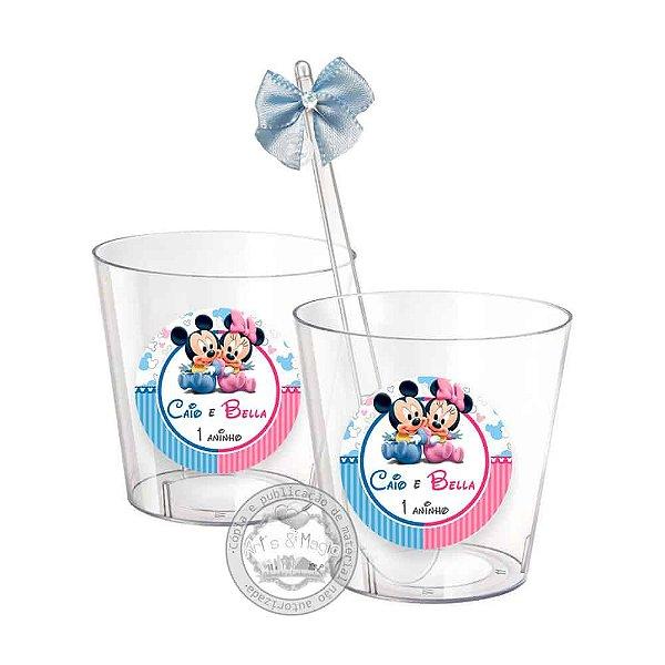 Copinhos Personalizados Disney Baby - 50 unidades
