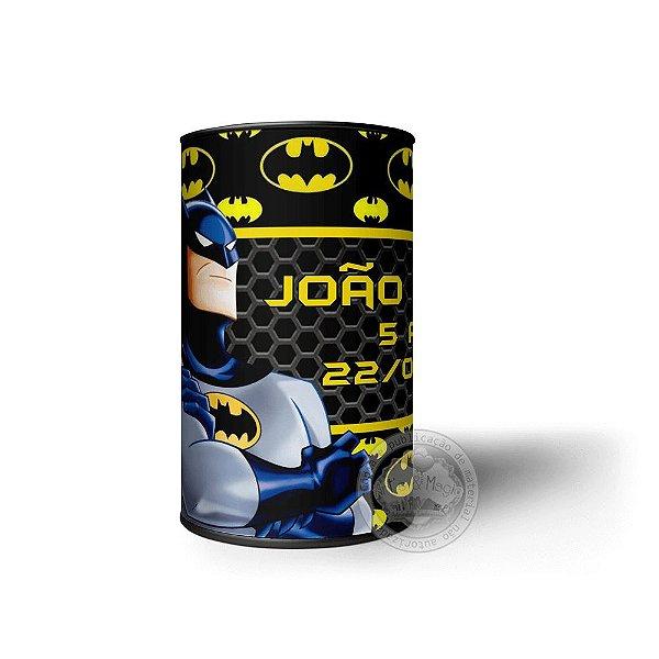 Cofrinho Personalizado Batman - 10 unidades