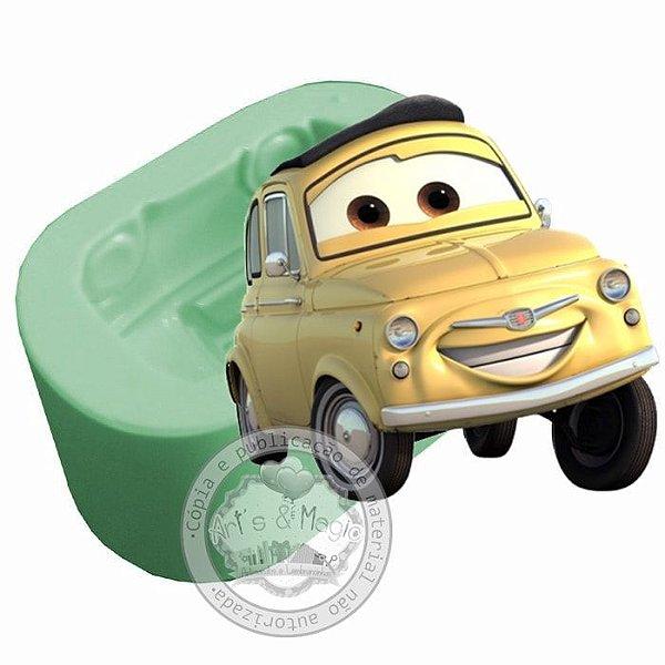 Molde de Silicone Carros Disney Luigi