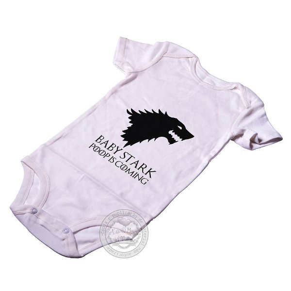 Body para bebê Game Of Thrones