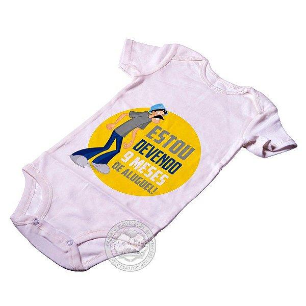 Body para bebê Seu Madruga