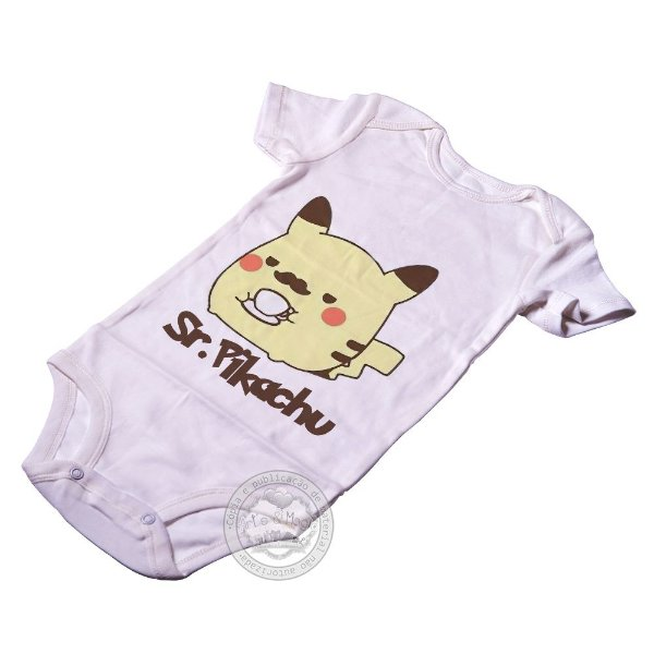 Body para bebê Sr Pikachu