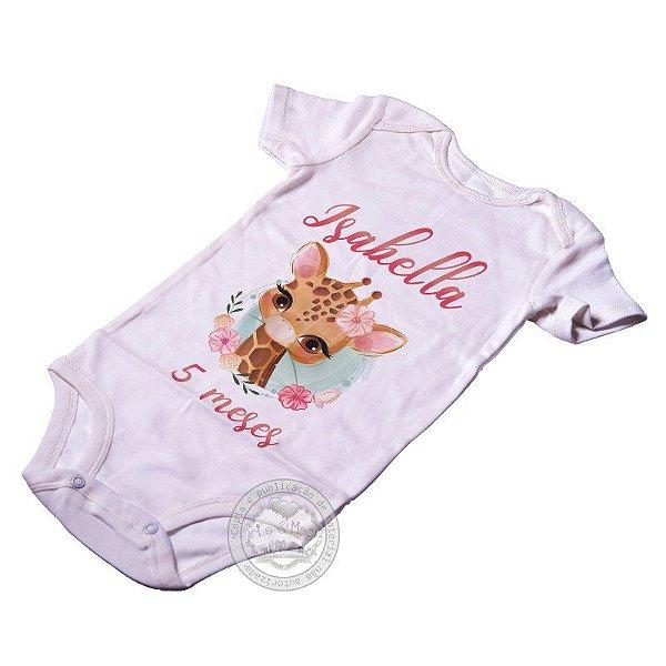 Body Personalizado Girafa Baby