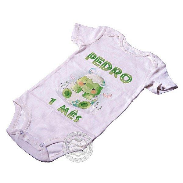 Body Personalizado Dinossauro Baby