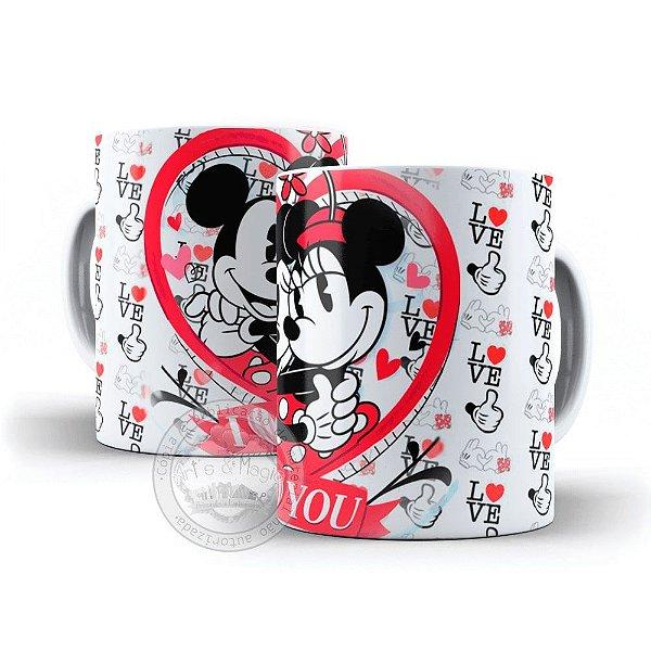 Caneca Mickey e Minnie