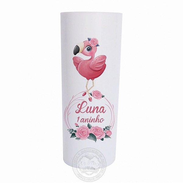 Copo Long Drink Flamingo Baby