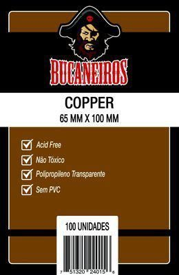Sleeve Bucaneiros Cooper 65 x 100 mm