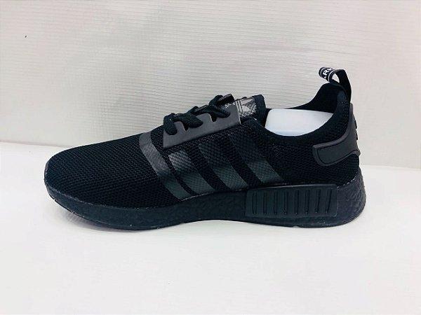 Tênis Adidas NMD R1 PK Winter Wool Masculino - Preto eaa16cd93cc6d