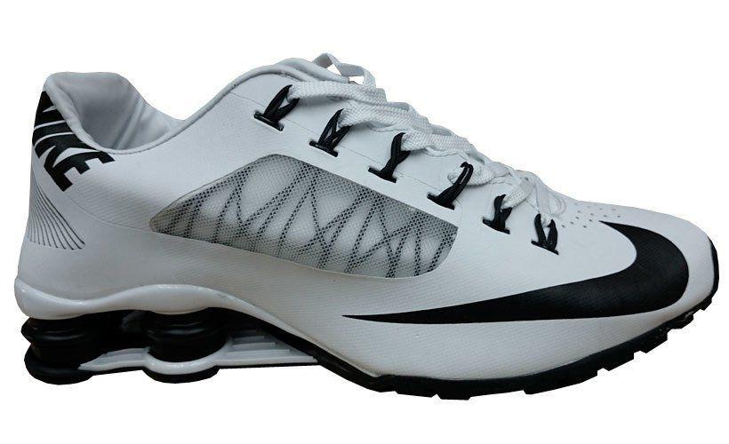 Tênis Nike Shox R4 Superfly- Branco com Preto