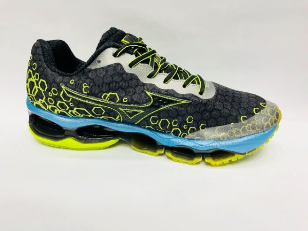 f3d30b7ab2 Tênis Mizuno Wave Prophecy 3 - Preto com Verde