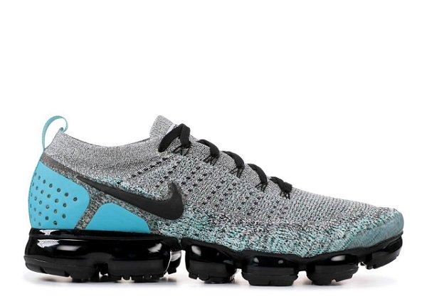 Tênis Nike Vapor Max 2.0- Cinza com Azul claro