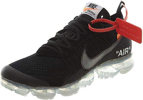 Tênis Nike x Off-White Vapormax FK- Preto Masculino
