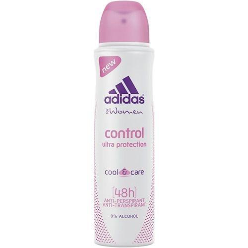 Desodorante Antitranspirante Adidas Feminino Aerosol Control 48h 150 ml