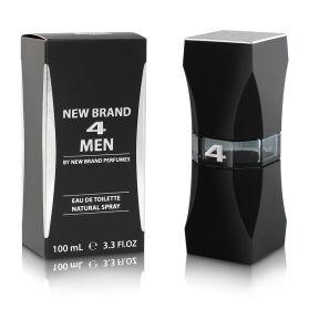 New Brand 4 Men Eau De Toilette 100 ml