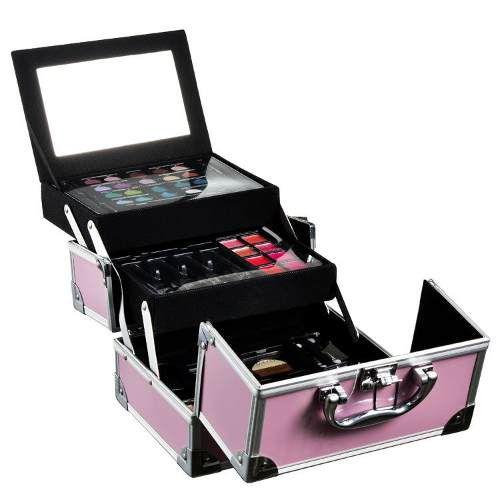 Maleta de Maquiagem Estojo Alumínio Colour Play Pink - Markwins