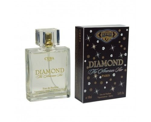 Cuba Diamond The American Star Masculino Eau De Parfum 100ml