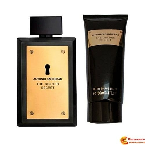 The Golden Secret Perfume 100ml + After Shave Balm 100ml