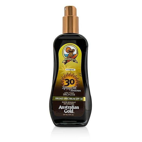 Australian Gold Spray Gel Sunscreen Spectrum With Instant Bronzer Broad Spectrum