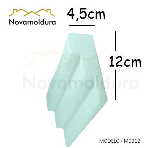 Molduras de isopor modelo M0312 - 120mm de face