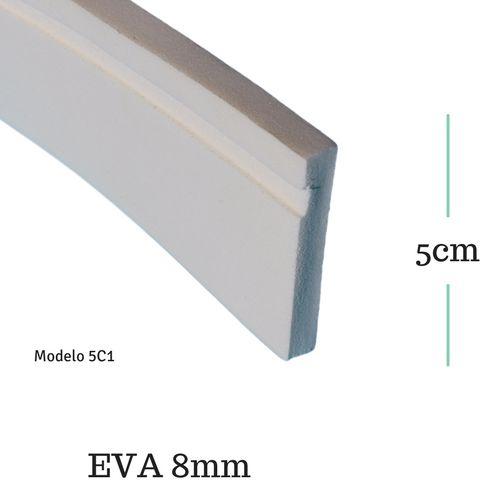 Moldura de EVA 5cm x  0.8cm