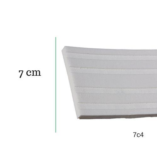 Moldura de EVA 7cm x 0.8cm