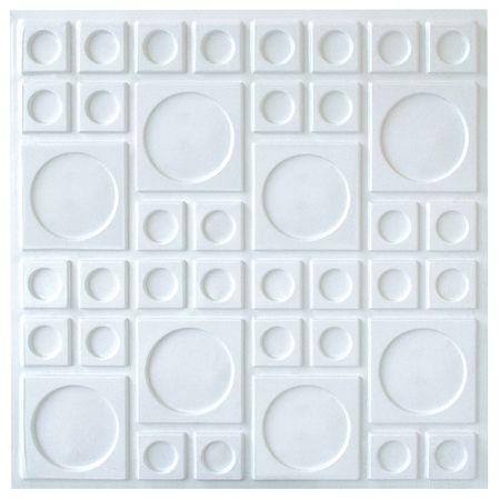 Placas De Pvc 3d 50cm X 50cm Asteca (valor por unidade)