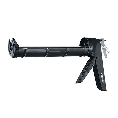 Aplicador Silicone Sparta Pistola Semi Aberto Metalico Preto