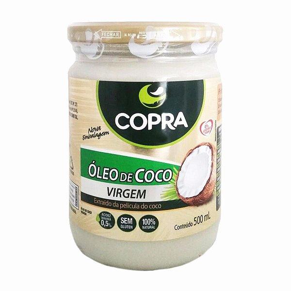 Óleo De Coco Virgem 500ml Copra Alimentos
