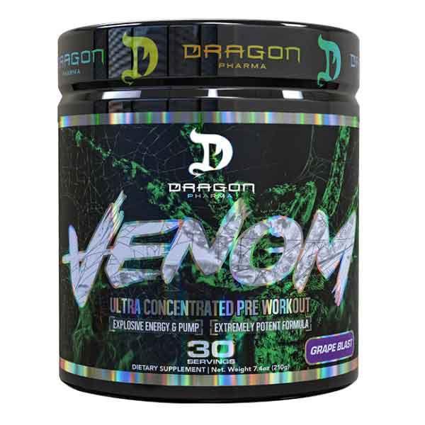Venom (30 Doses) - Pre-Treino Ultra Concentrado - Dragon Pharma
