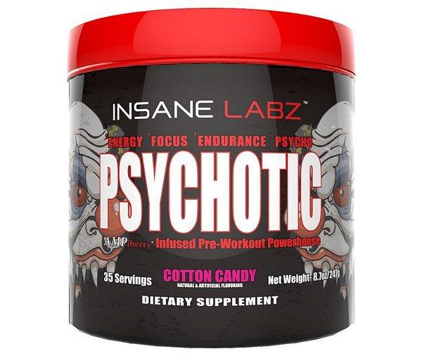 Pré Treino Psychotic Insane Labz (35 doses)