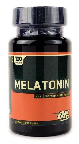 Melatonina 3MG - 100 caps - Optimum Nutrition