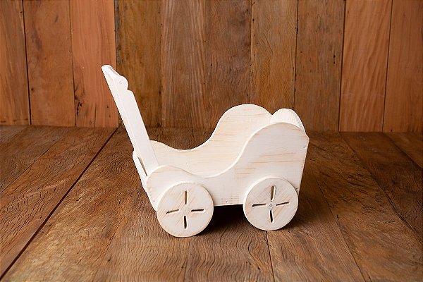Carrinho De Bebê Charme Newborn, Acompanhamento.