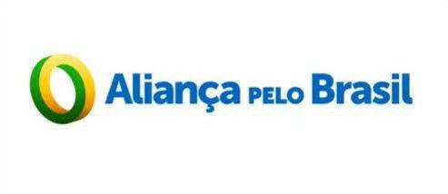 ADESIVO ALIANÇA PELO BRASIL - PARTIDO BOLSONARO