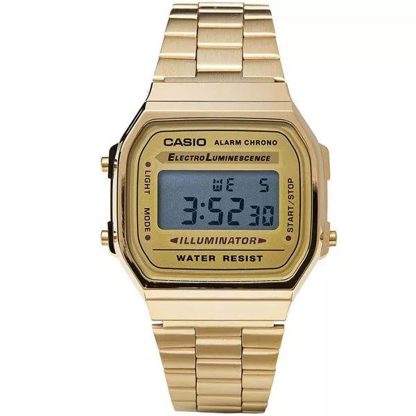 19b351ac4d4 Relógio Casio Vintage Dourado - UK SHOP STORE